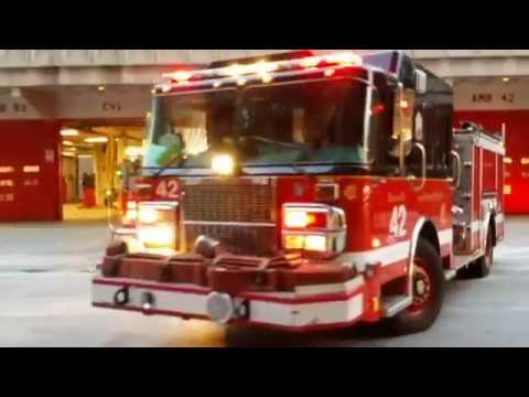 Chicago Fire Department in Action