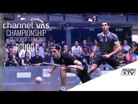 Squash: Rd 1 Roundup Pt. 2 - Channel VAS Championship 2017