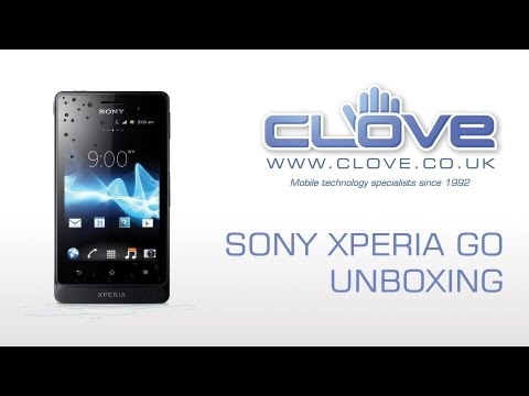 Sony Xperia Go (ST27i) Unboxing