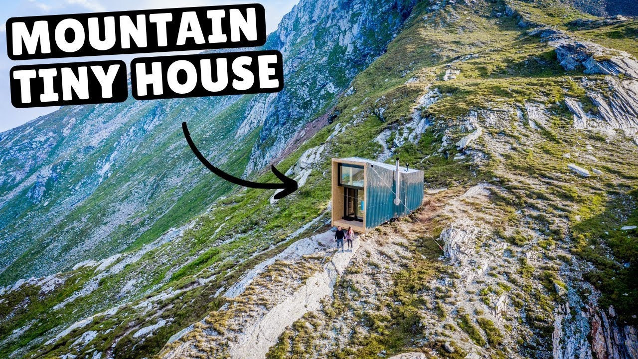 Our Tiny Home In The Swiss Alps Full Tour Youtube