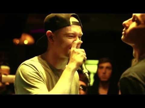 LVL UP Grime Clash (Russian) - Redo VS Obladaet (4 раунда от Redo)