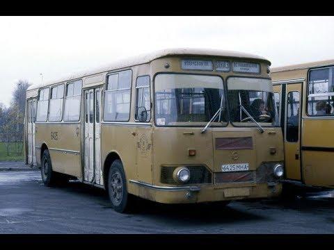 Ностальгия: 20 фото автобусов и грузовиков времен СССР