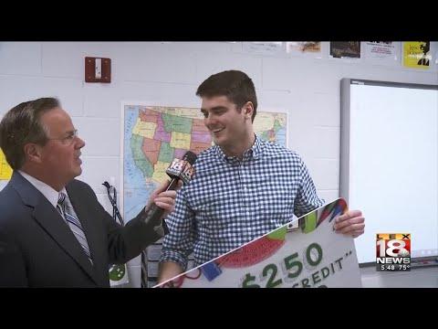 Forcht Bank Extra Credit Award: East Jessamine High School's Matthew Ledford