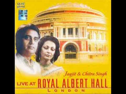 JAGJIT CHITRA LIVE IN ROYAL ALBERT