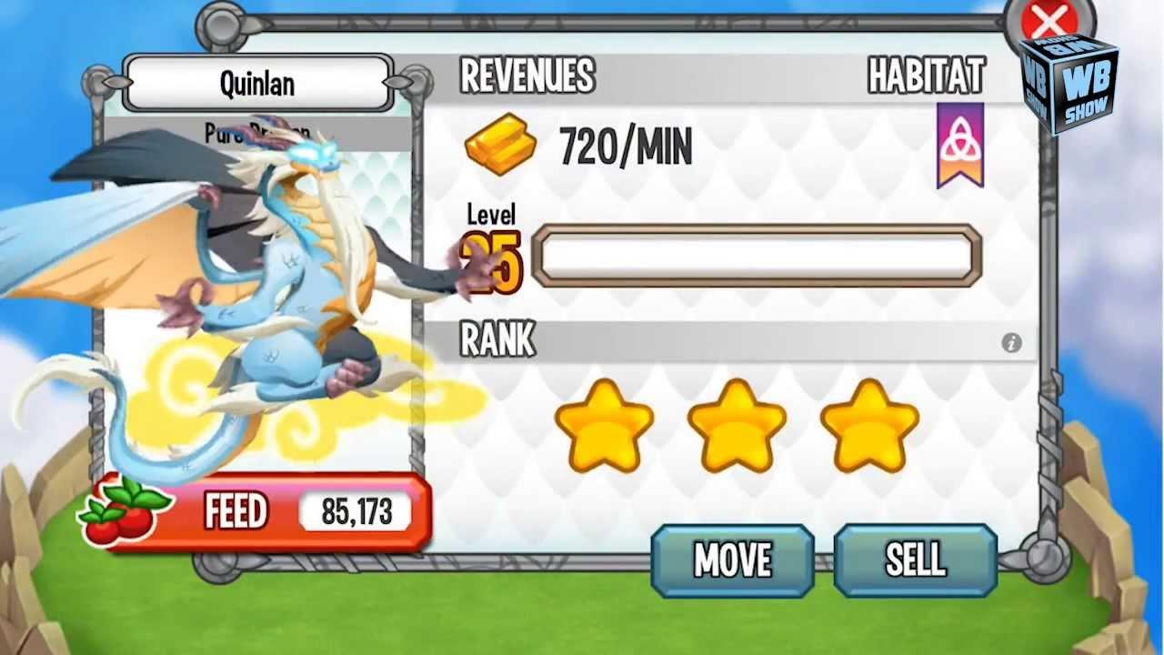 Dragon City Mobile NEW PURE DRAGON
