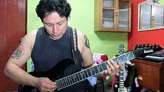 sin aliento-danza invisible-cover guitar
