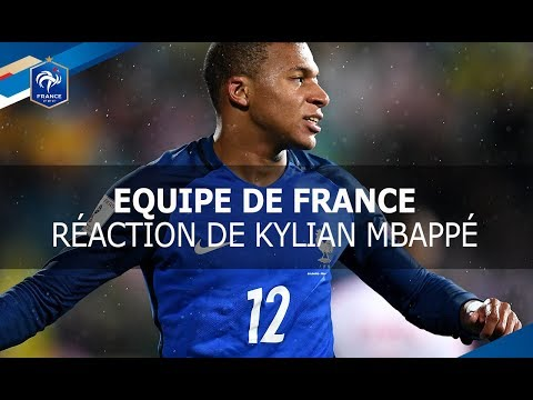 Equipe de France, La réaction de Kylian Mbappé, interview I FFF 2017