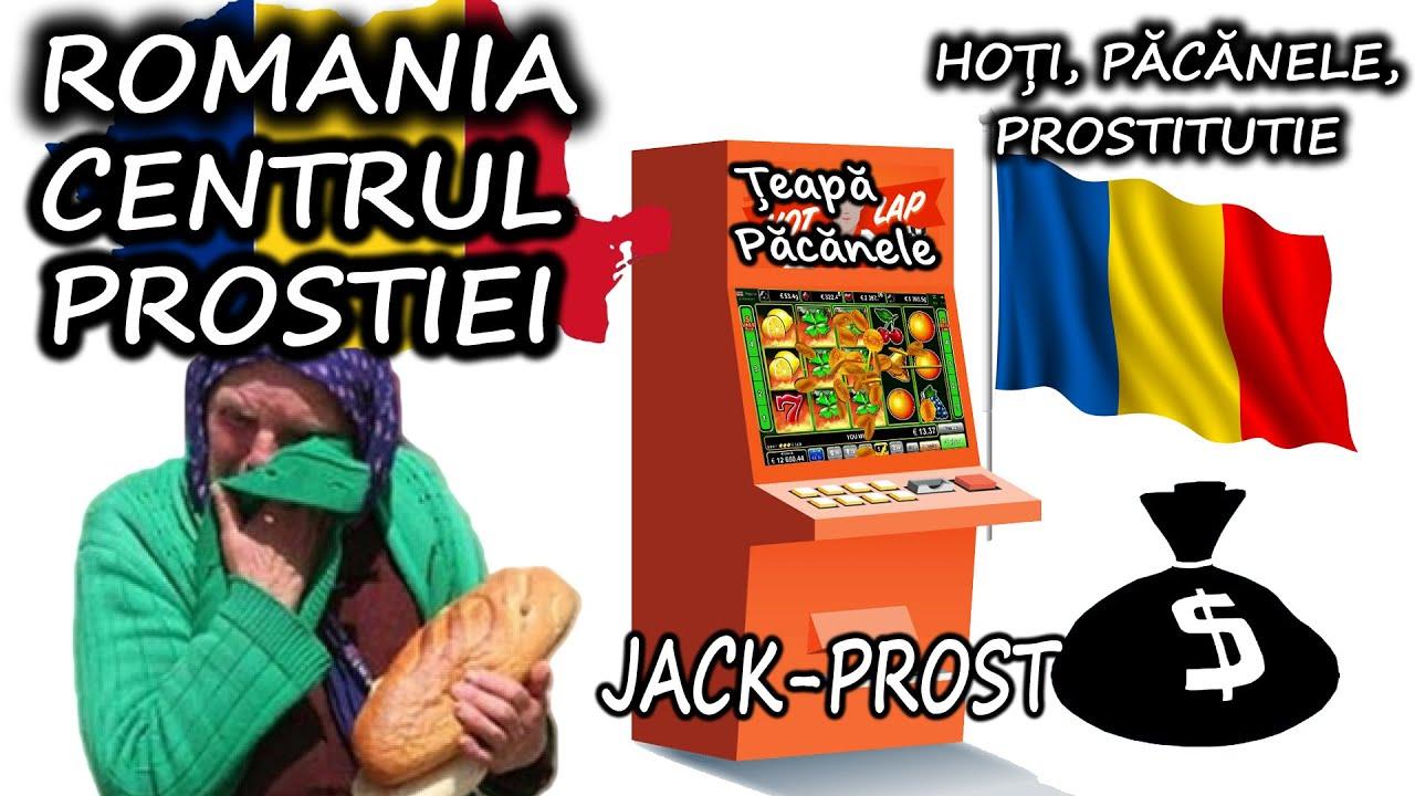 ROMANIA ESTE CENTRUL PROSTIEI / TARA CU 2 SPITALE SI 20 DE CAZINOURI / O TARA BLESTEMATA