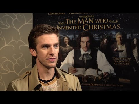 Dan Stevens' Christmas: 'Die Hard,' Mariah Carey and 'explosives'