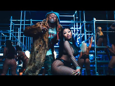Смотреть клип Nicki Minaj, Drake, Lil Wayne - Seeing Green