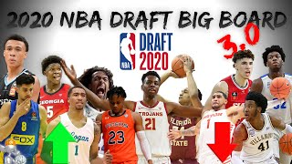 2020 NBA Draft Big Board 3.0 | Stock Risers/Fallers?