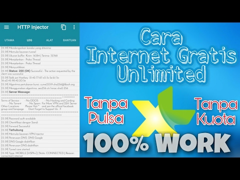 ( 100% WORK ) Cara Internet Gratis Unlimited XL / Axis Tanpa Pulsa & Tanpa Kuota Terbaru 2017