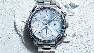 OMEGA Speedmaster 38mm – blue dial
