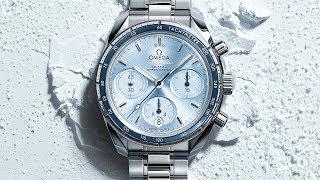 OMEGA Speedmaster 38mm – blue dial
