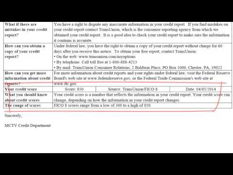 FICO 850 Credit Report Facts