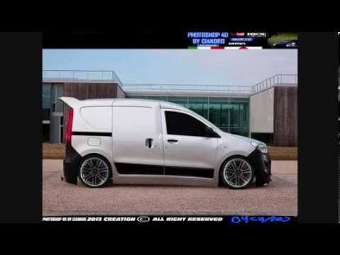 dacia dokker virtual tuning cs6 youtube. Black Bedroom Furniture Sets. Home Design Ideas