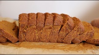 I Tried Making Bread With Sweet Potatoes Instead of Flour | Paleo Bread