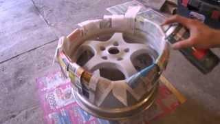 Реставрация литых дисков(, 2014-07-07T01:34:51.000Z)