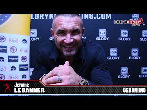 Jerome LE BANNER - GLORY 60 / FIGHT LEGEND / Francis NGANNOU