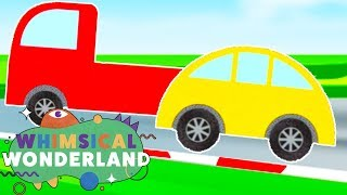 Learn Colors and Numbers with Cars | Learn To Count | Learning Compilation | Whimsical Wonderland