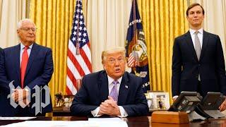 Trump announces Israel-UAE peace agreement