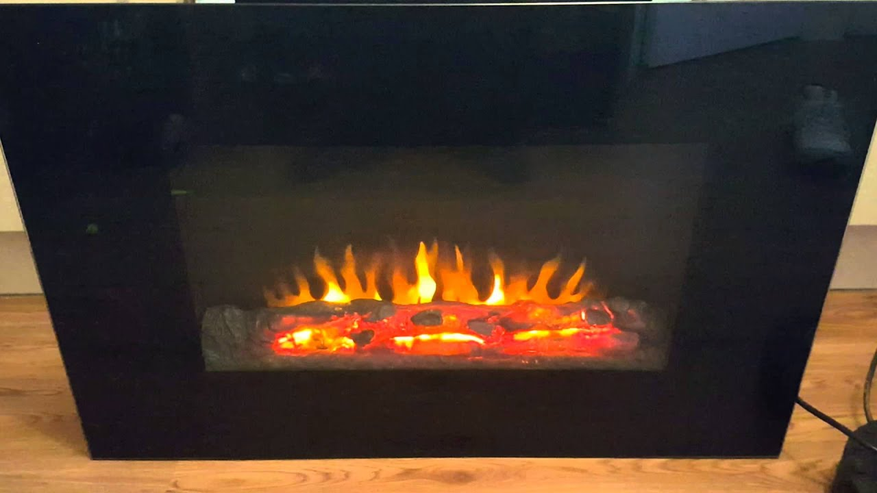 led electric fire home safe
