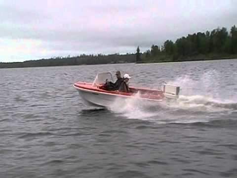 35 HP Chrysler Outboard on 14' Fiberglass Boat