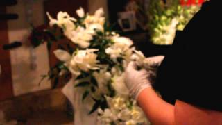 How to Make a Cascade Bridal Bouquet