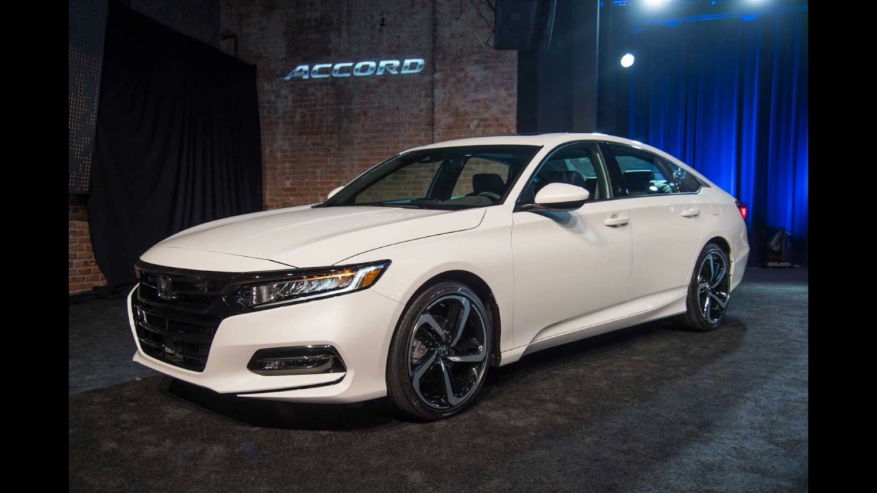 release new 2018 honda accord sport se youtube. Black Bedroom Furniture Sets. Home Design Ideas