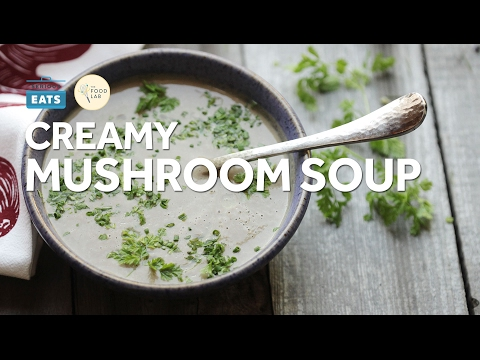 Easy Creamy Mushroom Soup
