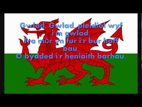 Anthem Genedlaethol Cymru (Welsh National Anthem) - Hen Wlad Fy Nhadau