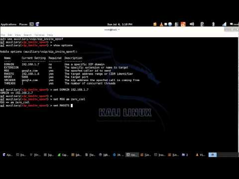 Hacking Voip With Metasploit