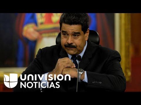 """Maduro dice que su sugerencia de canjear a Leopoldo López por Óscar López Rivera fue un comentario """""""
