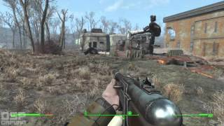 Fallout 4 playthrough pt37 - On the Brotherhood s Trail National Guard and a GLOWING ONE