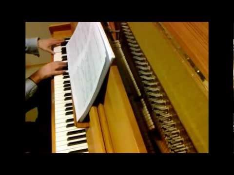 Oliver Kohlenberg Pianosonaatti Nro 5. San-Tan Injuehin (=Kolmasti kuvastuva kuu) op. 68 - Ote A