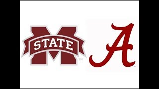 2018 #16 Mississippi State at #1 Alabama (Highlights)