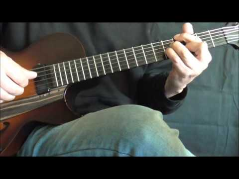 Fingerstyle  jazz Guitar Lesson - A Nightingale Sang In Berk