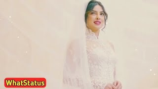 New Priyanka Chopra Wedding Whatsapp Status 2018 💖💖 Latest WhatStatus