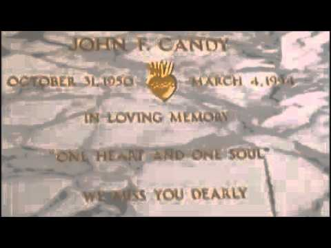 John Candy Grave SCTV Comedy Classic Actor Buried Memorial Holy Cross Mortuary Cemetery