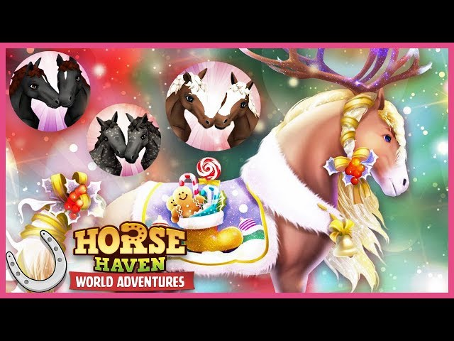 Christmas Twins Breeding Event in Horse Haven World Adventures