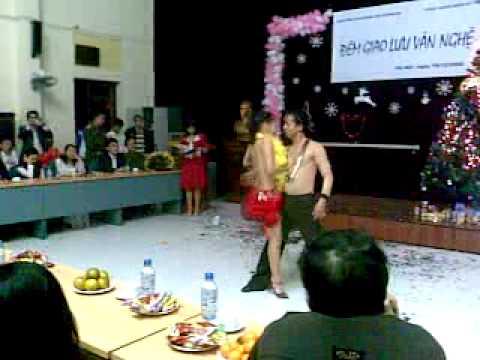 Biểu diễn Rumba ngày 19/12/2008