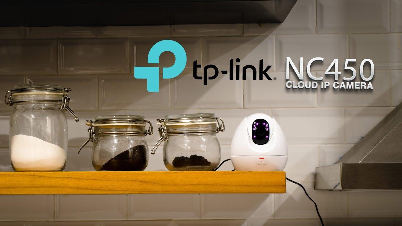TP-LINK NC450 IP Camera Night Vision Wireless LAN MicroSD Motion Sound  Sensor - Setting