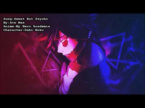Nightcore~ Sweet But Psycho {Male+Lyrics}