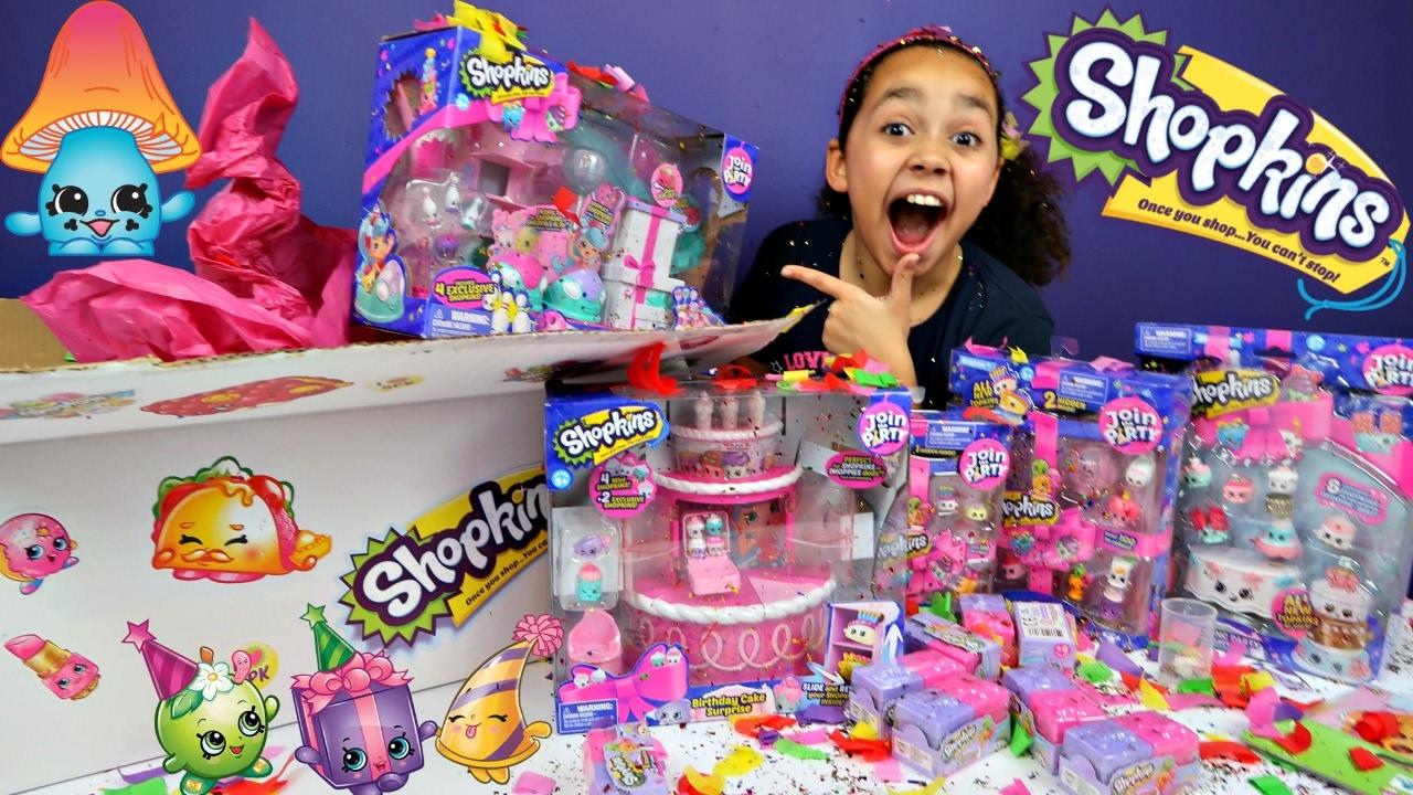Shopkins Season  Birthday Cake Surprise