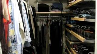 Elfa Closet Container Store + Gold Retriever Rescue
