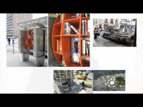 Conférence sur les quartiers culturels et le mouvement mondial des microbibliothèques