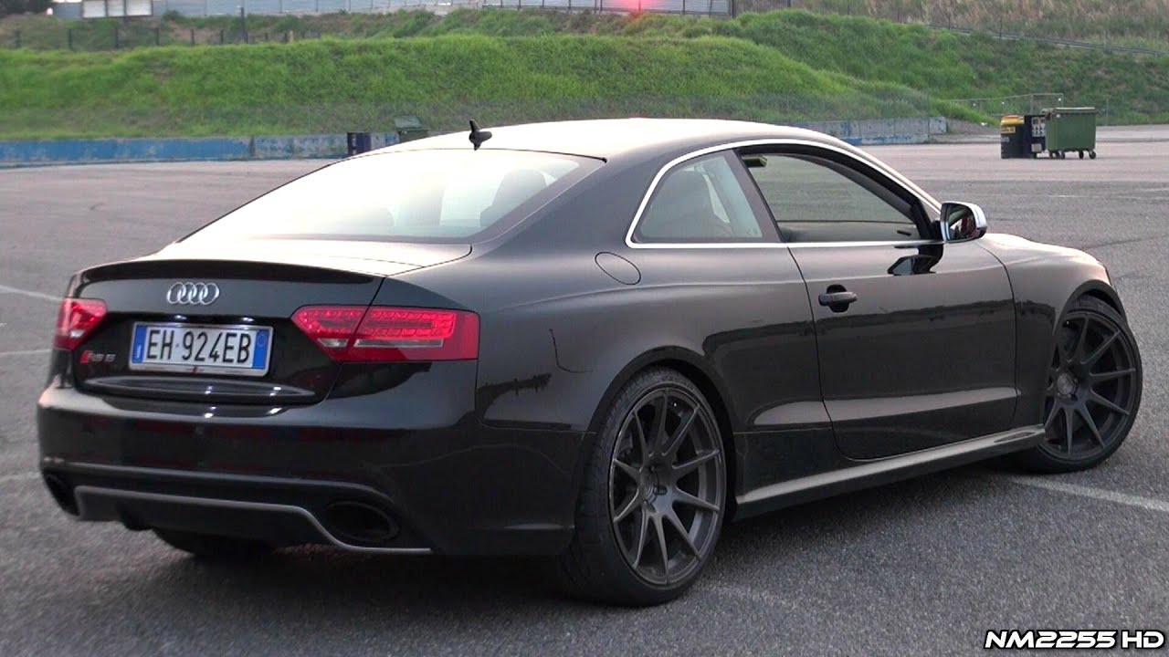 Insane Audi Rs5 With Capristo Exhaust Sound Youtube