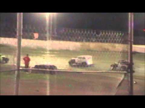 dwarf cars at cora speedway 2-4-12