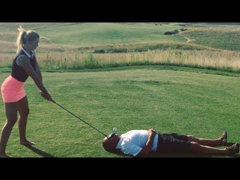 Chris Baker - This Girl Plays Some Serious Golf And Some Of These Guys Are Crazy