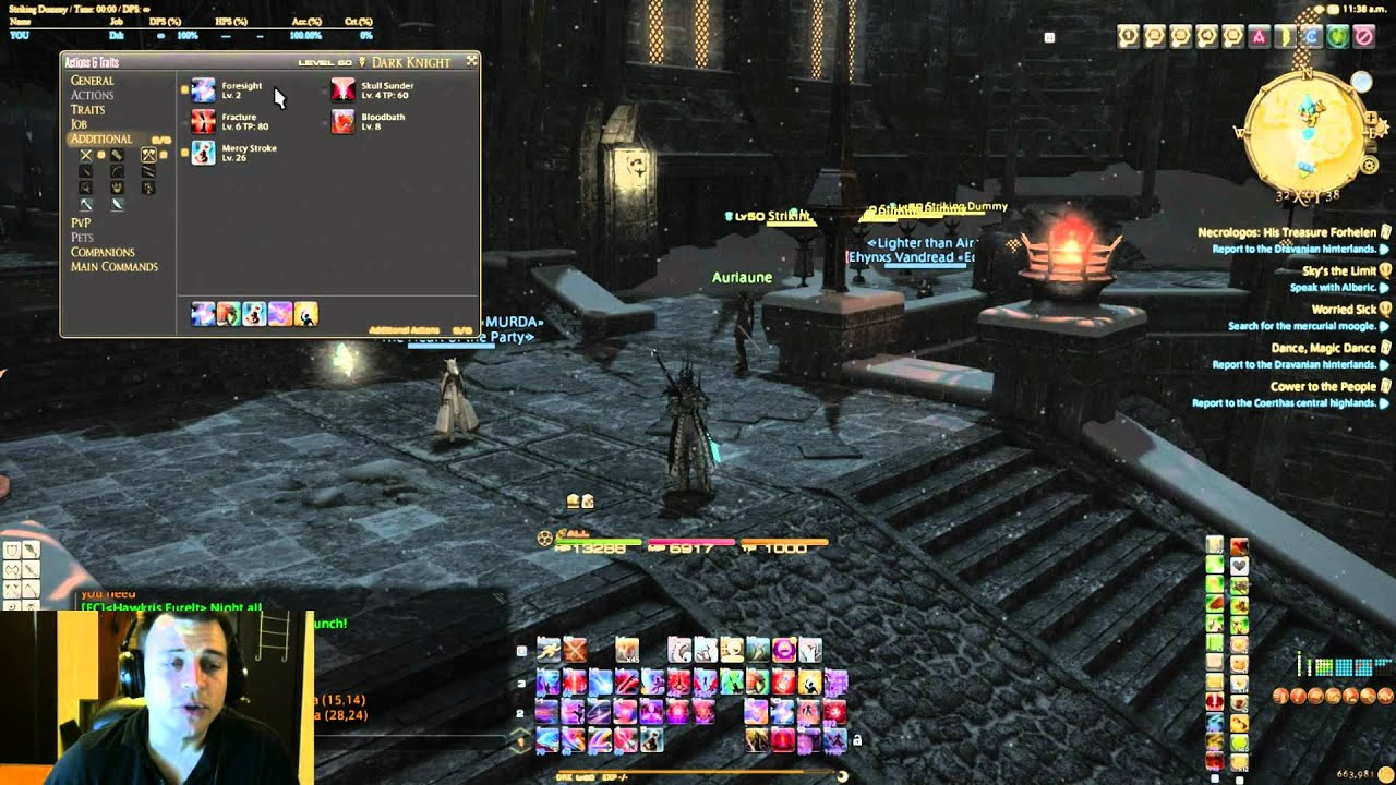 how to get cross class skills ffxiv